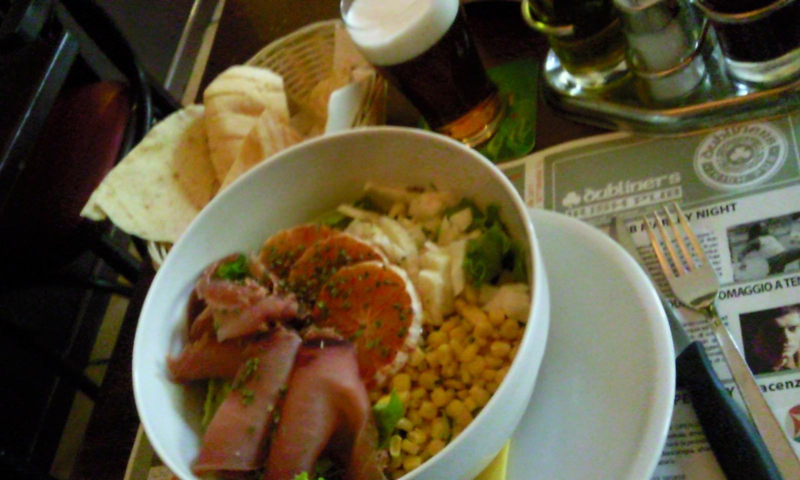 Tuna salad Dubliner lunch