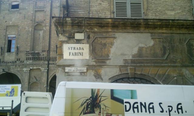 Via Farini Parma the World's greatest Cappuccino Strip