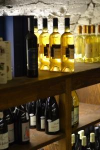 Racks of fabulous regional wines